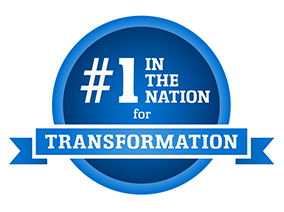 Ace Award #1 in Transformation Badge