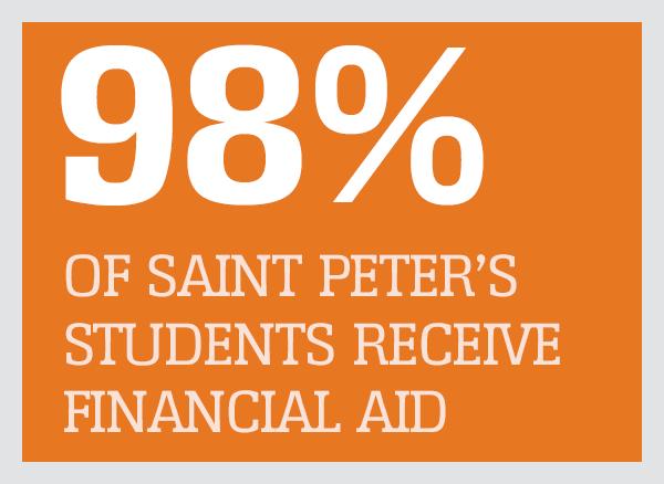 98% get financial aid
