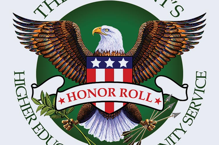 President's Honor Roll by the Corporation for National and Community Service