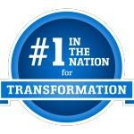 ACE Badge for #1 in Transformation