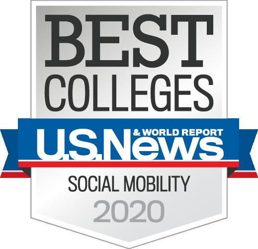 "2020 Highest-Ranked for ""Social Mobility"""