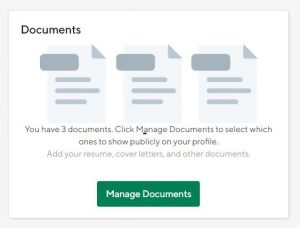 Upload Document screen view