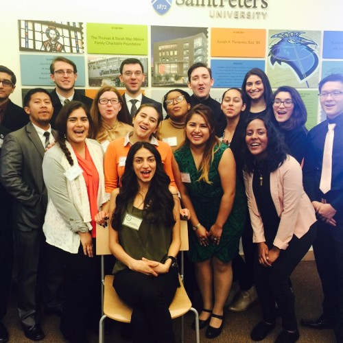 Model UN staff and students