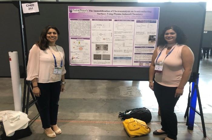 photo of Rina Rosales and Dr. Yosra Badiei