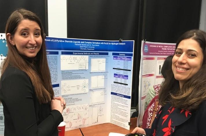 photo of Katherine Tecchio and Dr. Yosra Badiei