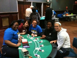casino night participants