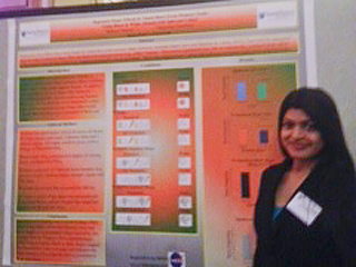 Research Poster with Author Mahum Hashmi