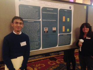 Research Poster with Sandesh Bhandari and Maryellen Hamilton