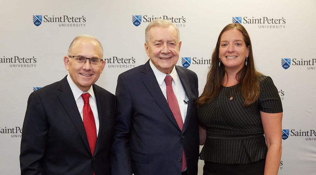 Eugene J. Cornacchia , Hon. Frank J. Guarini , and Mary Kate Naatus