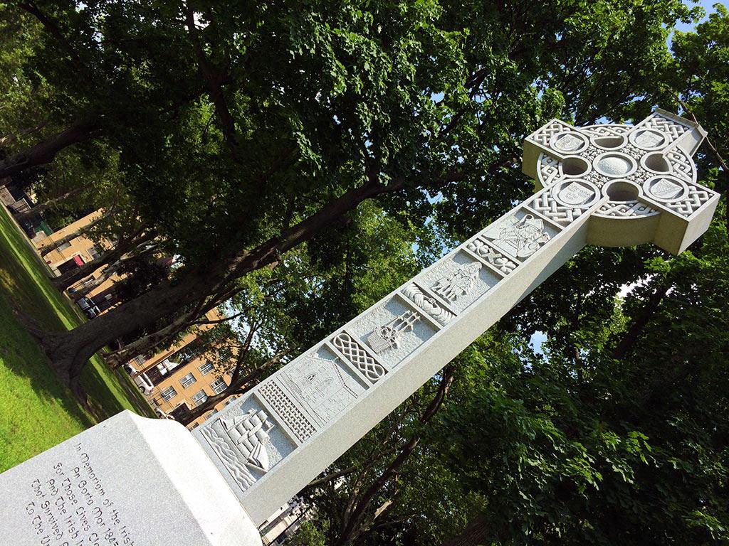 The Great Irish Famine Memorial in Lincoln Park