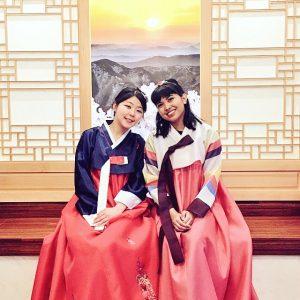 two women in Sogang