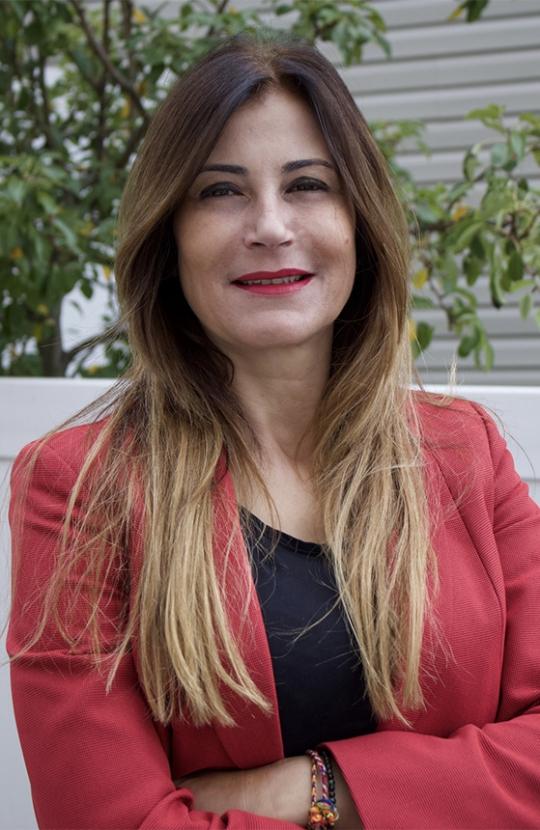Headshot of Chanaz   Gargouri