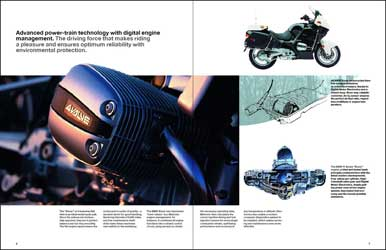 product brochure BMW