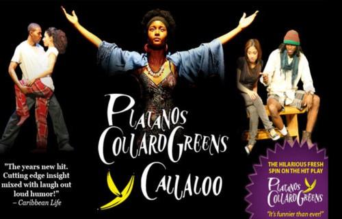 Platanos Collard Greens y Calaloo