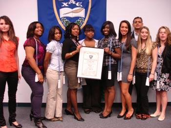 Kristina , Kristine, Christal, Cassandra, Rodneisha, Shantaya , Brittney Lindsey , and Kristina
