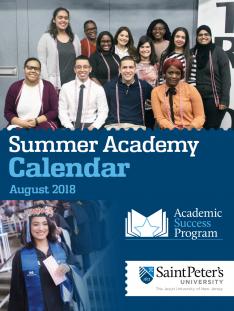 summer academy calendar